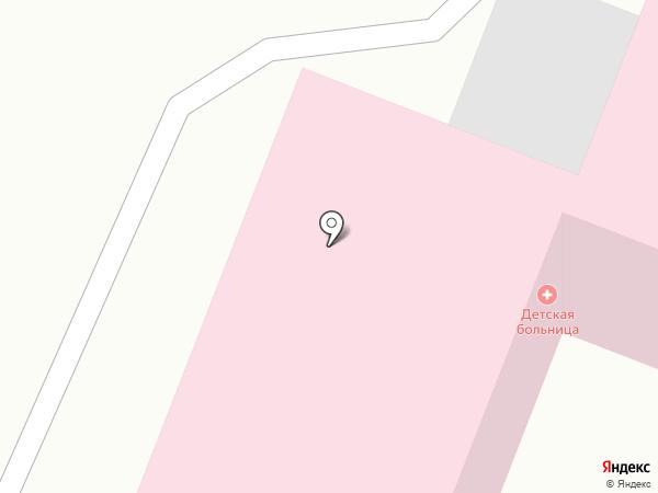 Детская городская больница №2 на карте Находки
