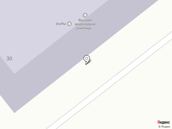 Дальневосточное мореходное училище на карте Находки