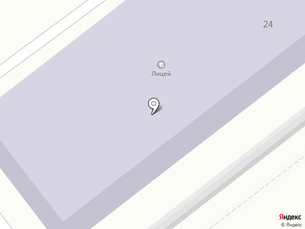 Лицей на карте Находки