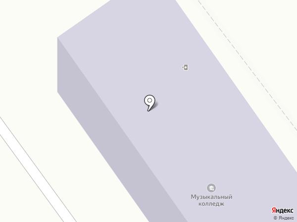 Приморский краевой колледж искусств на карте Находки