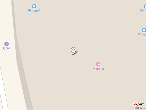 Чудодей на карте Находки