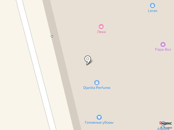 Муар на карте Находки
