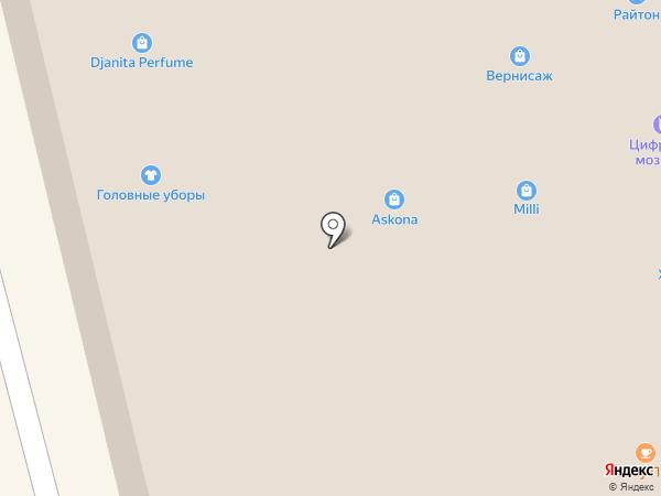 Островок на карте Находки