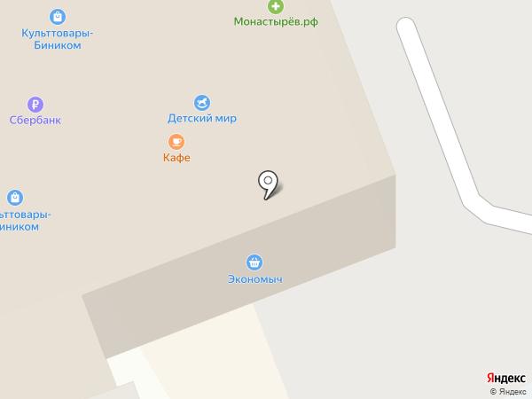 Монастырёв.рф на карте Находки