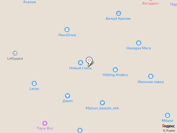 Jeep на карте Находки