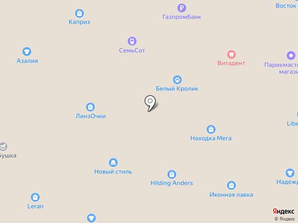 Монако на карте Находки
