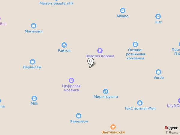 Glamour на карте Находки