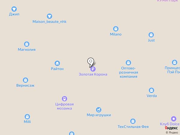 Л`Этуаль на карте Находки