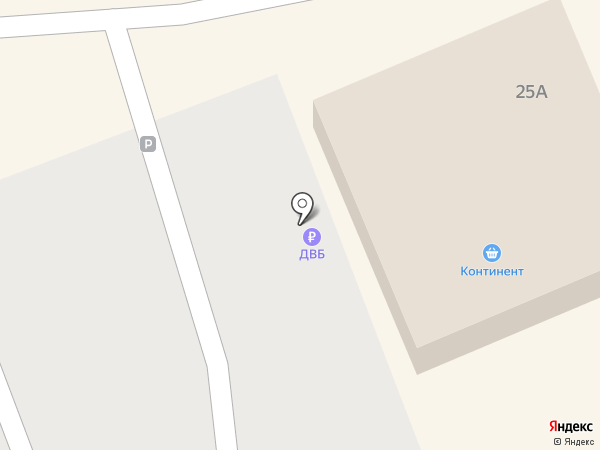 Банкомат, Дальневосточный банк, ПАО на карте Находки