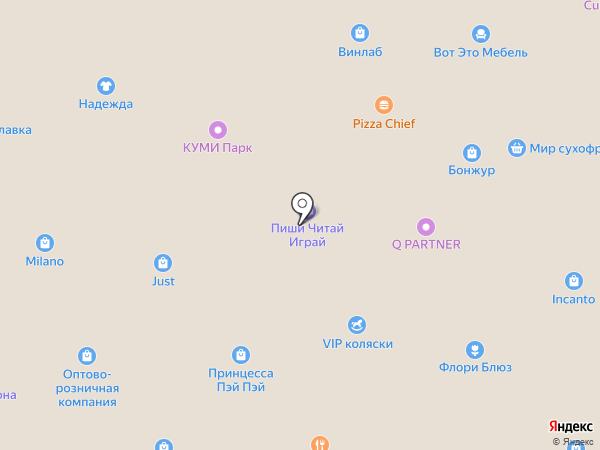 ТекСТИЛЬка на карте Находки