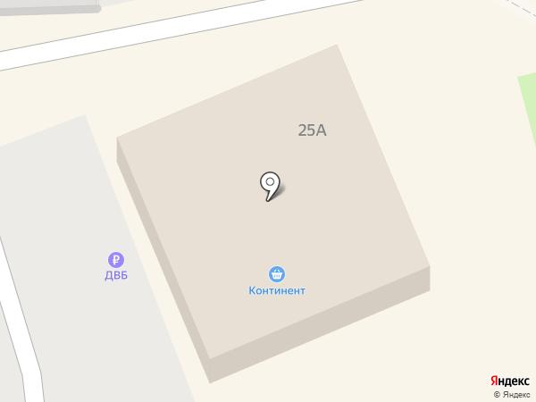 Континент на карте Находки
