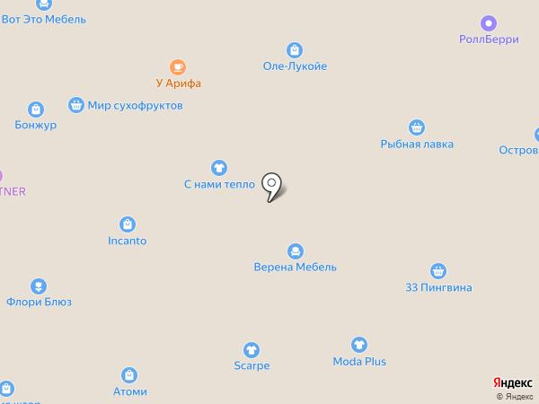Магнолия на карте Находки