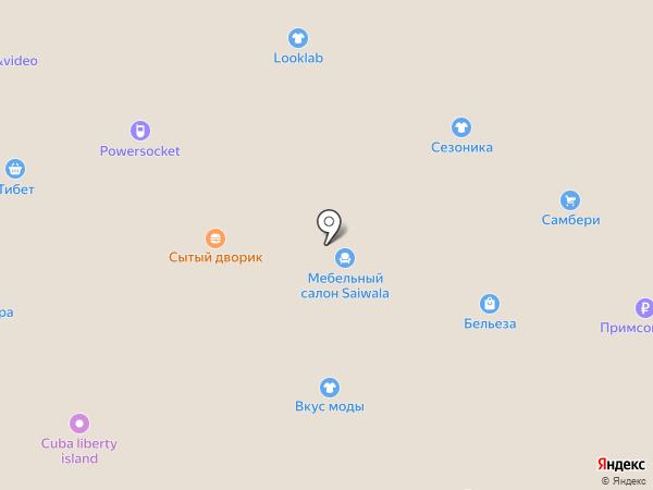 Слон на карте Находки