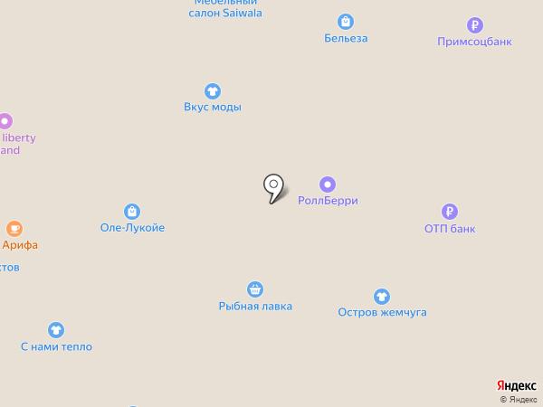 Fresh line на карте Находки