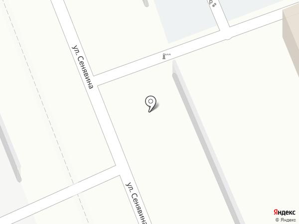 Автостоянка на карте Находки