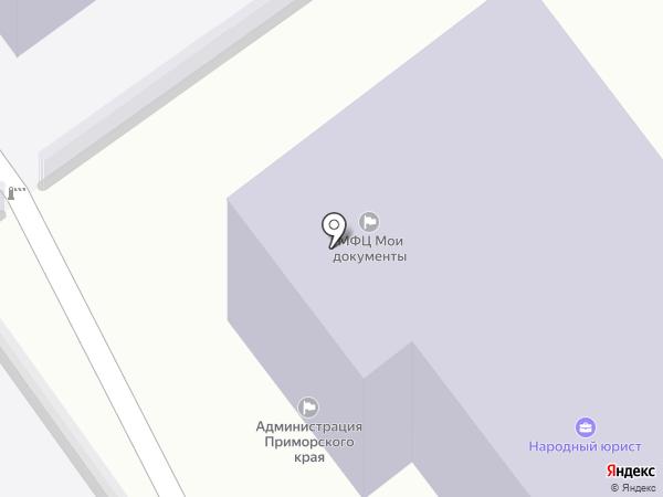 НАРОДНЫЙ ЮРИСТ на карте Находки