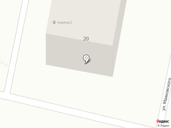 Одесса на карте Находки