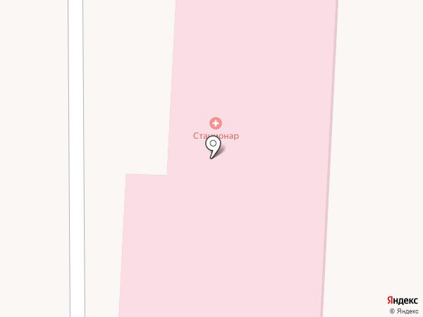 Находкинская городская больница на карте Находки