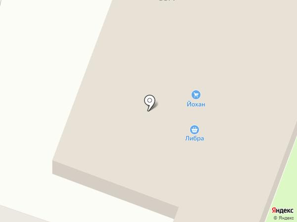 Йохан на карте Находки