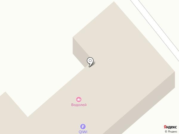 Водолей на карте Находки