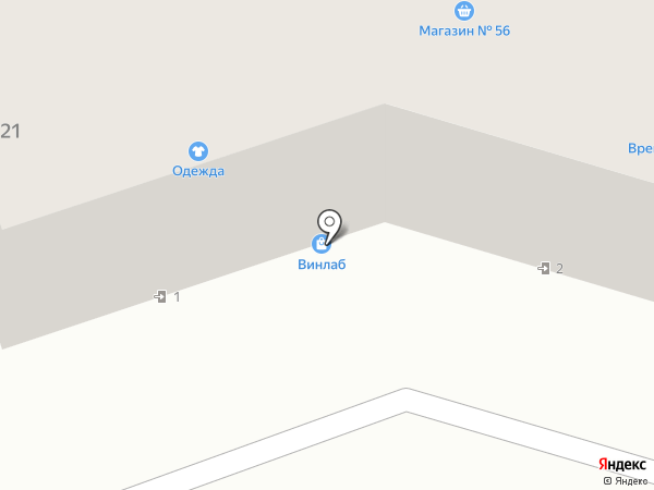 Подаркино на карте Находки
