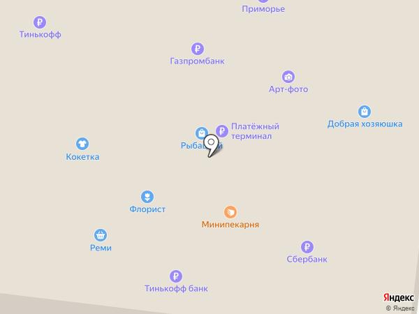 Домашние штучки на карте Находки