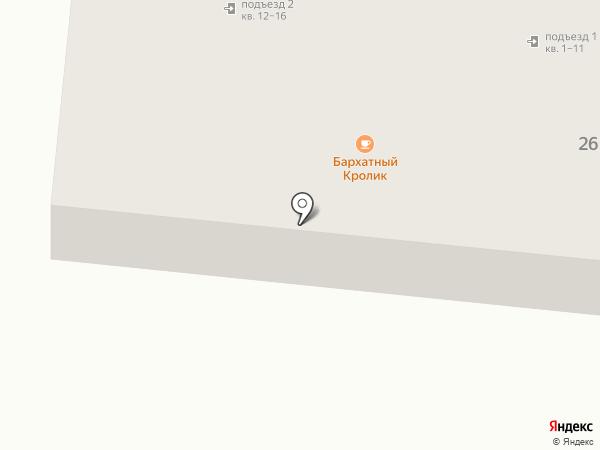 Космос на карте Находки