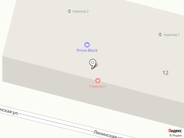 Казанова на карте Находки