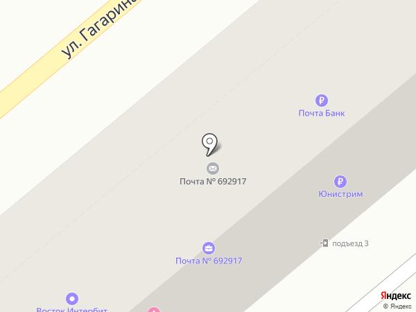 Креатив на карте Находки