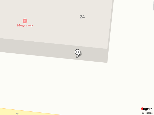 Медлазер на карте Находки