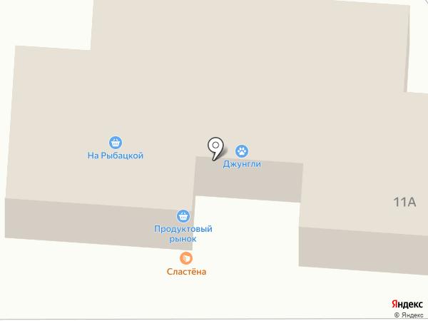 Магазин разливного пива на карте Находки