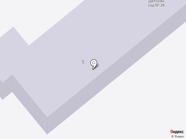 Детский сад №34 на карте Находки