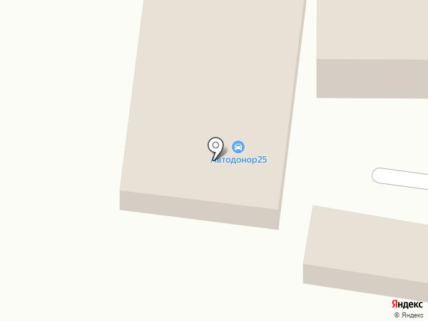 АИТА на карте Находки