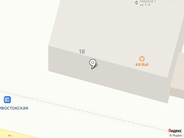 ДТИ на карте Находки