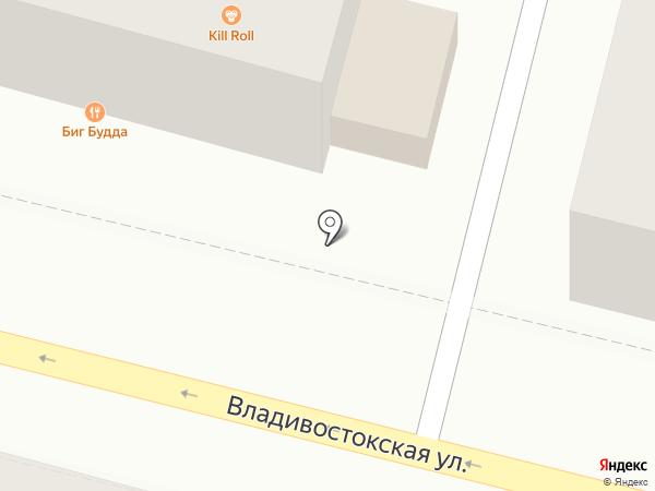 Магазин фруктов и овощей на карте Находки