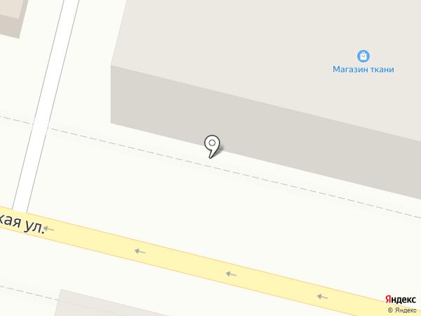 Магазин тканей на карте Находки