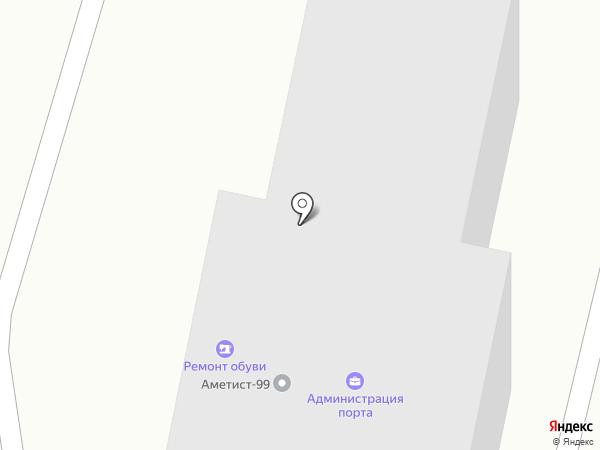Находкинский морской рыбный порт на карте Находки