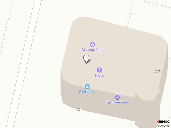 Банкомат, Газпромбанк на карте Находки