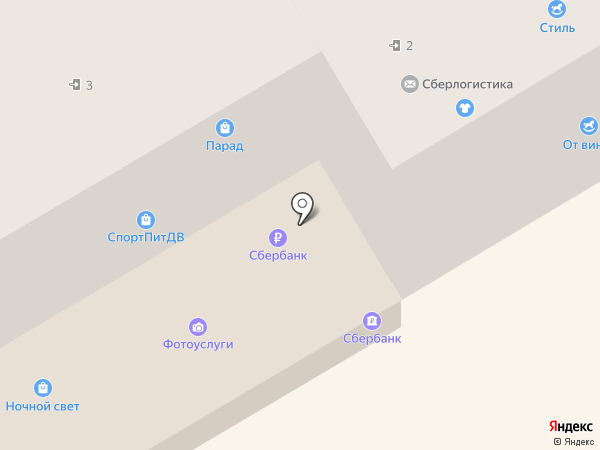Возрождение на карте Находки