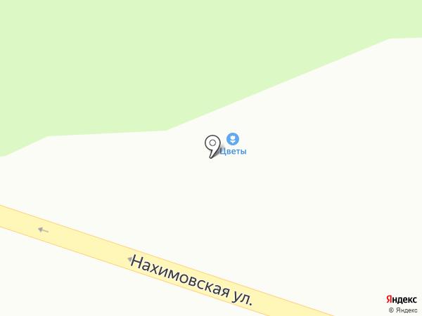 АРТ Букет на карте Находки