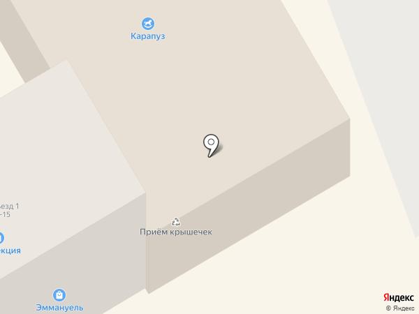 Стиль на карте Находки