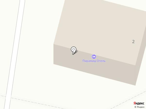 Пирамид Отель на карте Находки