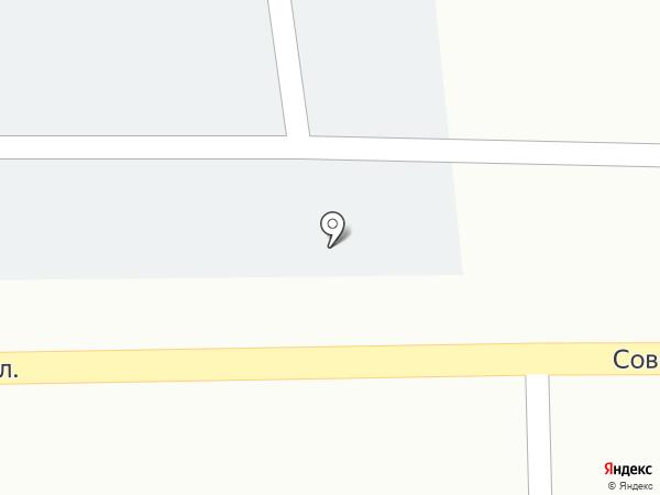 Автостоянка на Советской на карте Находки