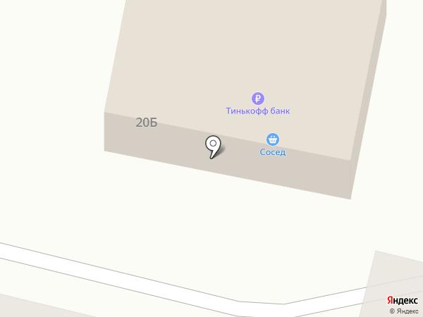 Сосед на карте Находки