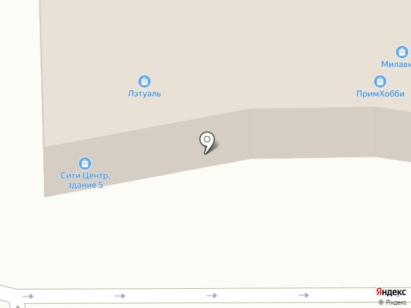 Выбражульки на карте Находки