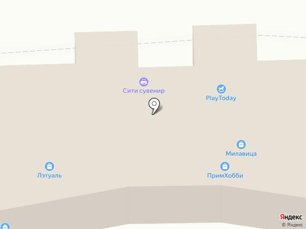 ПримХобби Сити на карте Находки