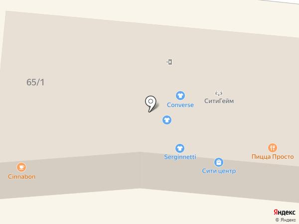 Сити Гейм на карте Находки