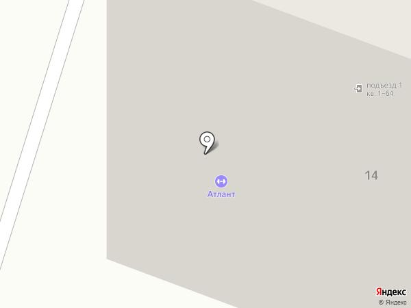 Атлант на карте Находки