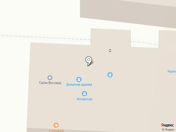 Orby на карте Находки