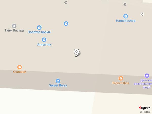Золотое время на карте Находки
